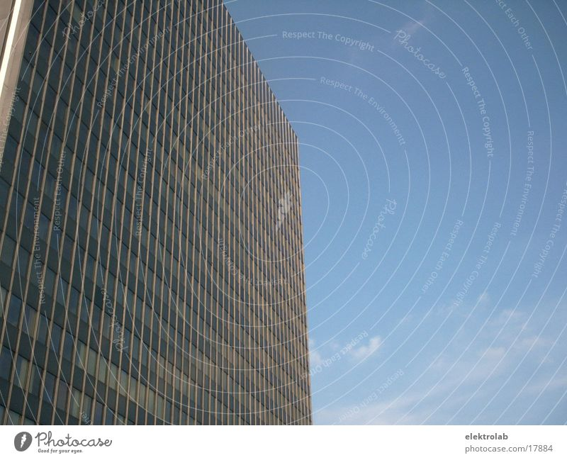 Sky Blue Berlin Architecture Glass High-rise Modern