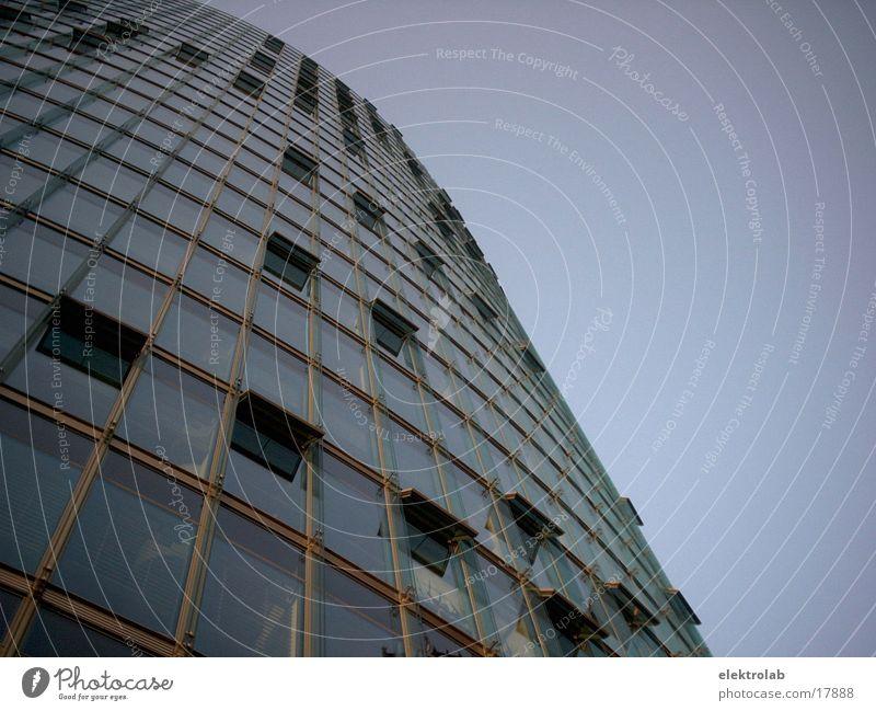DB Headquarters Railroad Window High-rise Potsdamer Platz Architecture Glass Modern Berlin