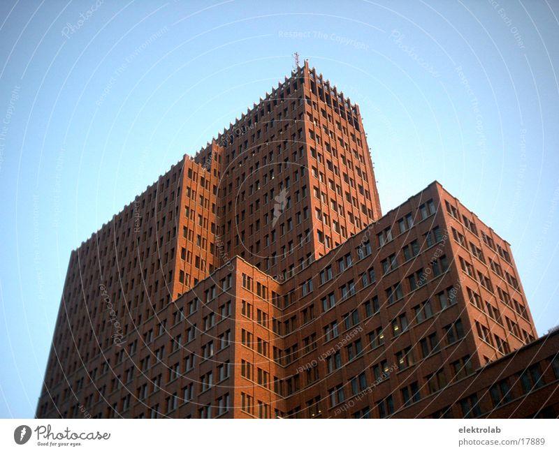 Kollhoff Building Brick Red Potsdamer Platz Architecture kollhoff Blue Berlin