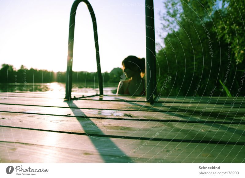 leisure activities Colour photo Exterior shot Copy Space left Copy Space bottom Day Shadow Contrast Reflection Sunlight Sunbeam Back-light