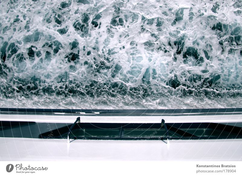 Blue Water White Vacation & Travel Summer Ocean Black Watercraft Power Wild Wet Tourism Perspective Elements Driving Logistics