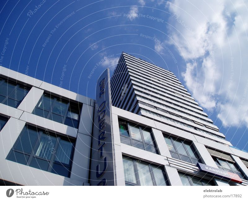 Oder tower Frankfurt Power White Architecture Tower power tower Blue