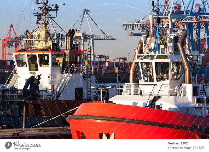 Tourism Work and employment Watercraft Wait Hamburg Logistics Harbour Tourist Attraction Capital city Navigation Traffic infrastructure City trip Container