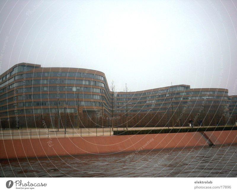 Red Berlin Gray Architecture Brick Sea promenade