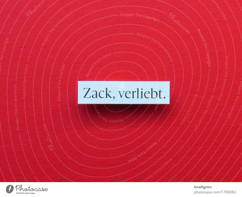 Zack, in love. Characters Signs and labeling Communicate Sharp-edged Red White Emotions Happy Joie de vivre (Vitality) Spring fever Enthusiasm Euphoria Passion