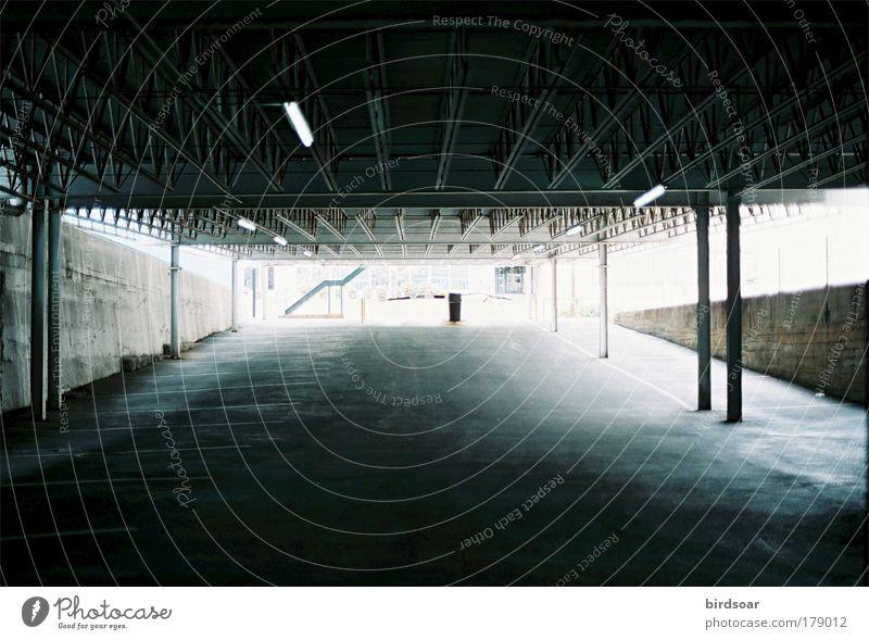 Soundproof City Cool (slang) USA Analog Parking garage North America 35mm film