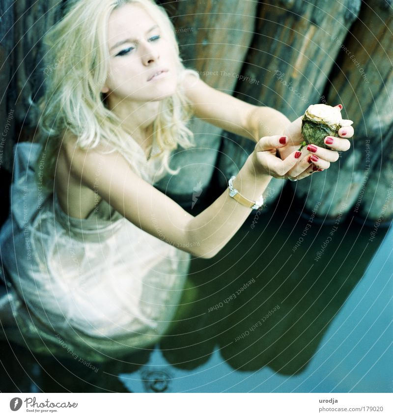 ALINA Water Beautiful Summer Joy Emotions Wood Hair and hairstyles Style Art Moody Elegant Skin Design Happiness Hope Gloomy