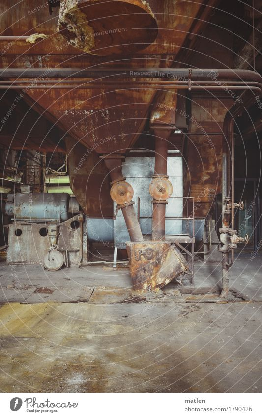 Old Blue Dark Yellow Gray Brown Energy industry Technology Concrete Industry Steel Conduit Machinery Engines Unload Coal power station