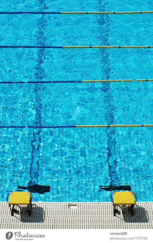 Blue Water Summer Yellow Sports 2 Leisure and hobbies Speed Action Swimming pool Track and Field Barrier Refreshment Sporting event Career