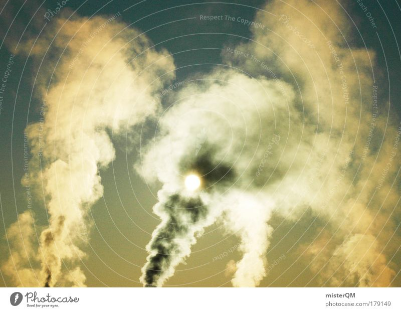 Sky Winter Dark Cold Environment Warmth Environmental pollution Horizon Dirty Poverty Industry Emission Idyll Sign Smoke Stress
