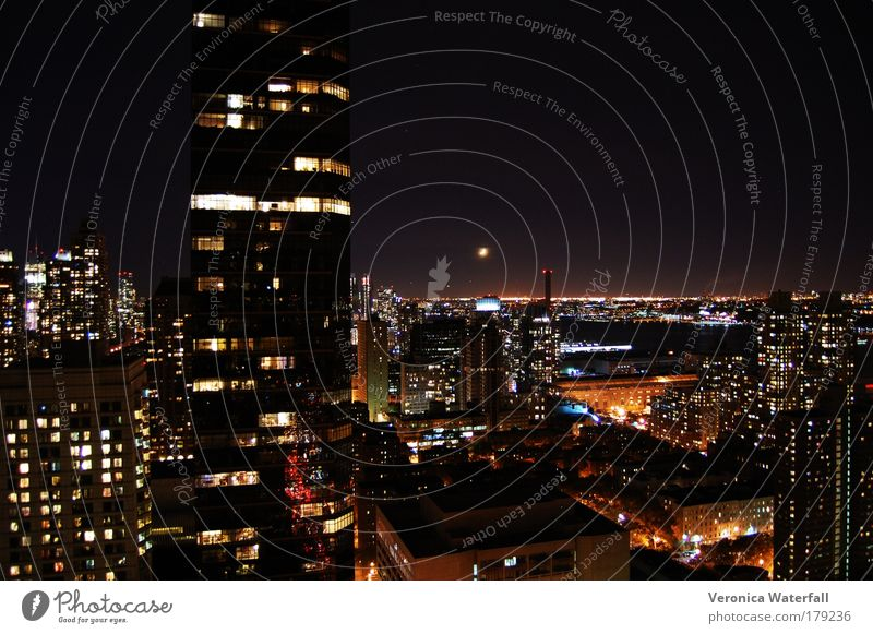 New York City at Night Elegant Network Might Culture Luxury Skyline Capital city USA Populated