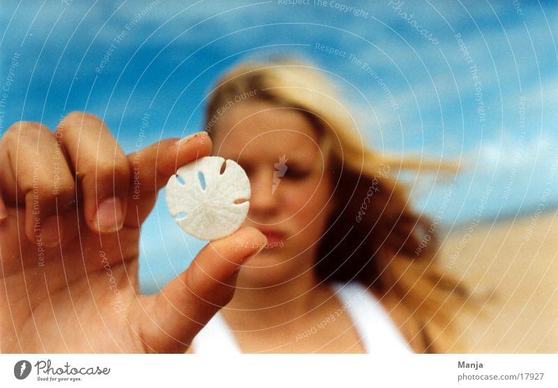 Helen Girl Beach Hand Woman Sun