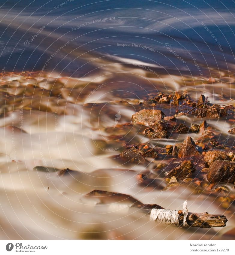 Nature Water Beautiful Sun Summer Freedom Scandinavia Sand Stone Dream Abstract Wet Natural River Elements Romance