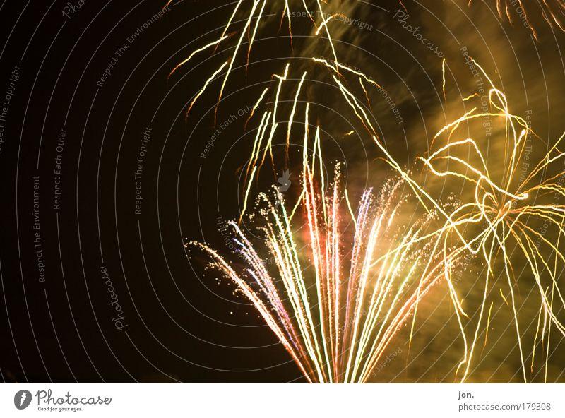 skyfire Colour photo Multicoloured Exterior shot Deserted Copy Space left Evening Twilight Night Contrast Light (Natural Phenomenon) Style Design Night life
