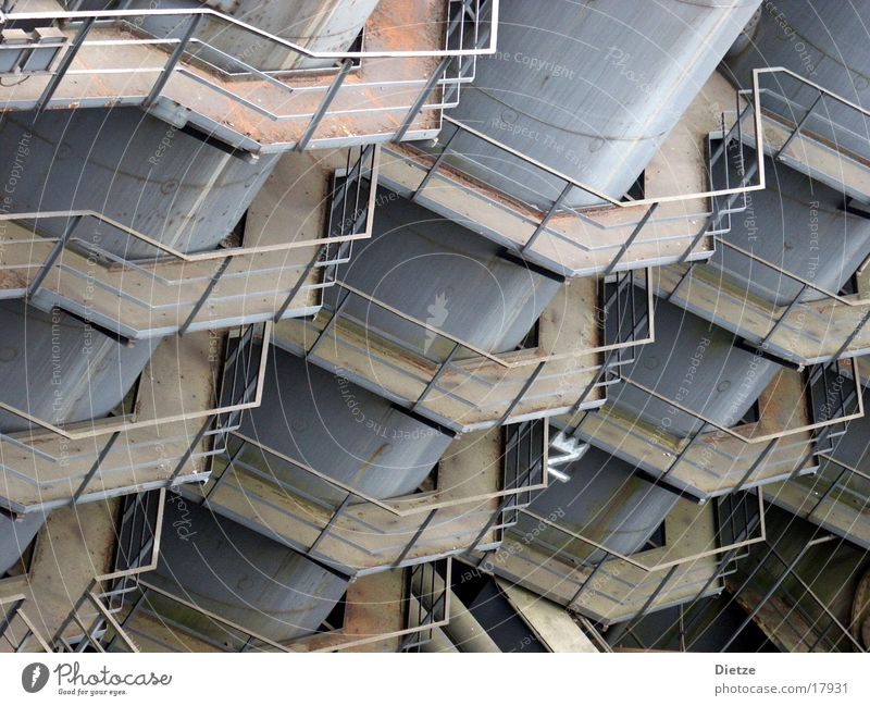 honeycomb structure Silo Iron Industry Detail