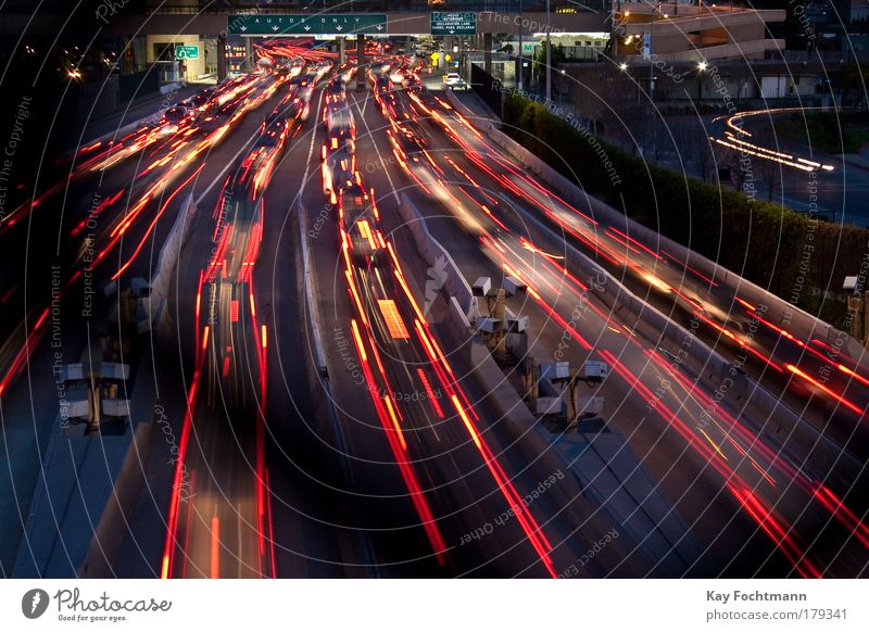Street Long exposure Car Motor vehicle Speed Night Driving Exposure Traffic infrastructure Border Mobility Testing & Control Light Motoring Transport