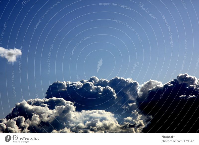 Nature Sky White Blue Summer Clouds Dark Above Power Weather Environment Large Energy Tall Threat Climate