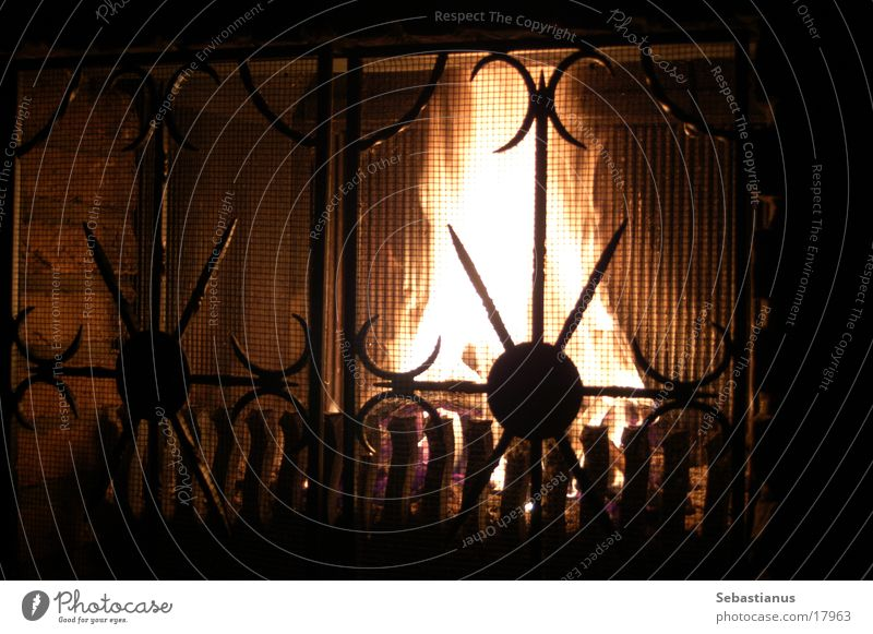 Fire in the fireplace Fireside Wood Burn Physics Harmful substance Living or residing Blaze Warmth Heater