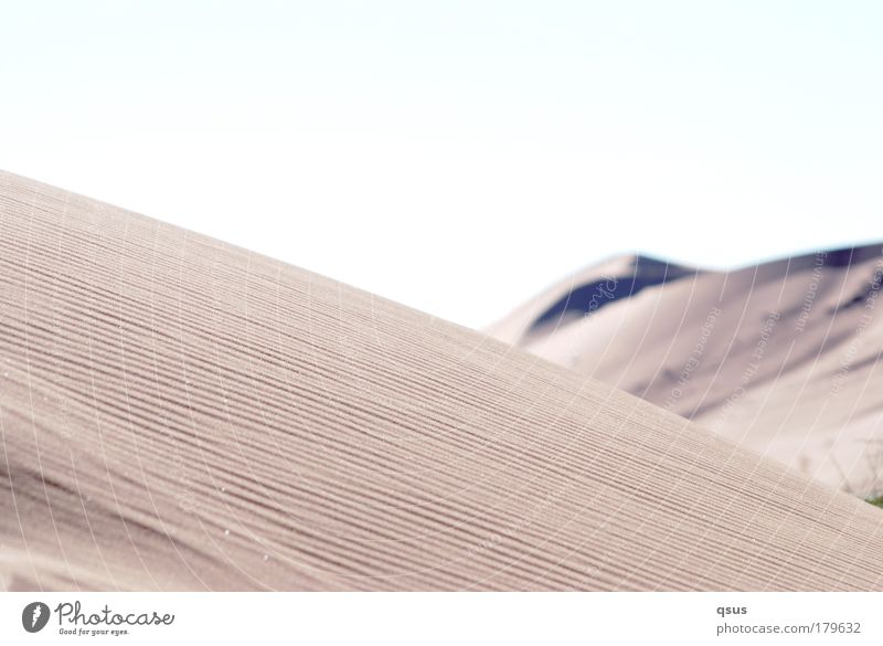 Calm Loneliness Warmth Landscape Desert Hill Dune Doomed Drought Undulating