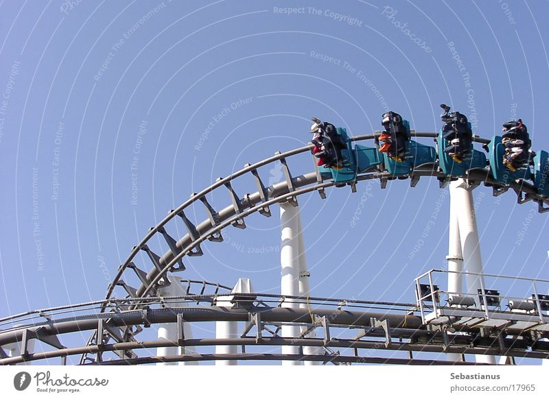 Eraser Roller coaster Hang Speed Theme-park rides Amusement Park Leisure and hobbies free-floating