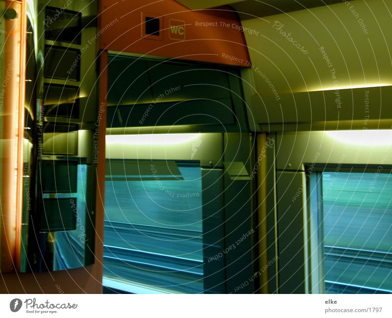 Vacation & Travel Transport Railroad Express train
