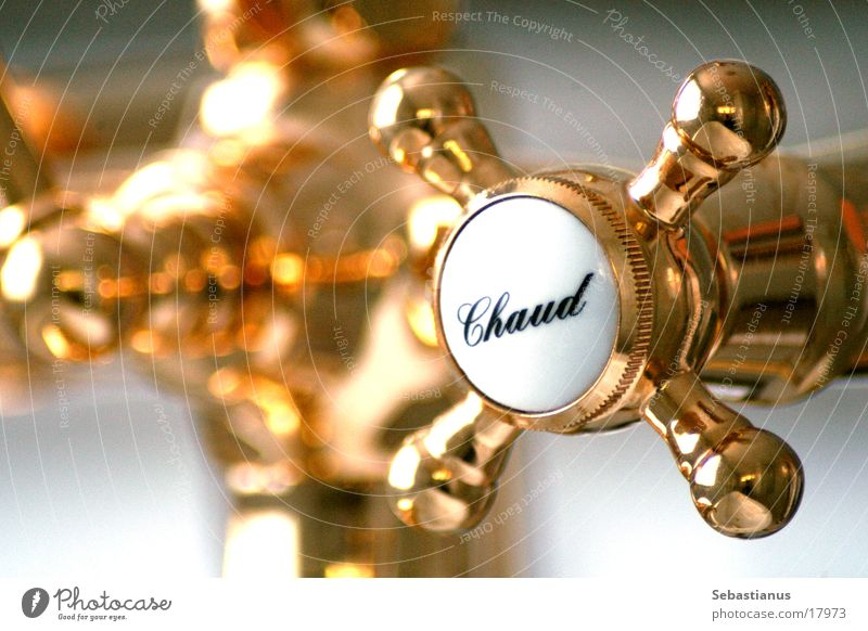 Warmth Bathroom Physics Living or residing Wheel Tap Brass