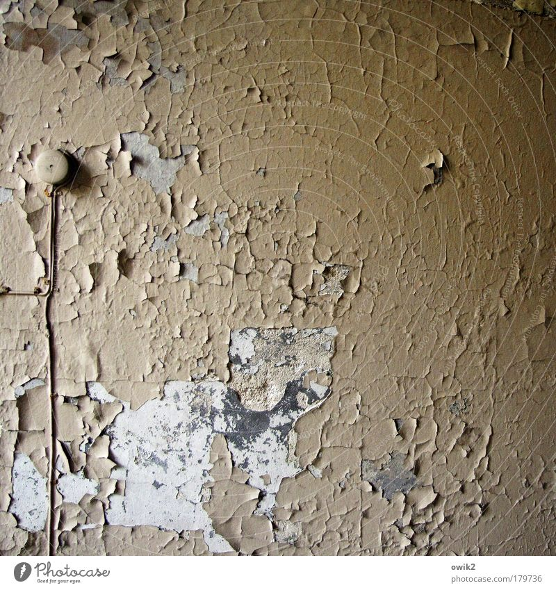 Old Colour Wall (building) Gray Building Wall (barrier) Going Design Cable Change Retro Transience Manmade structures Derelict Historic Past