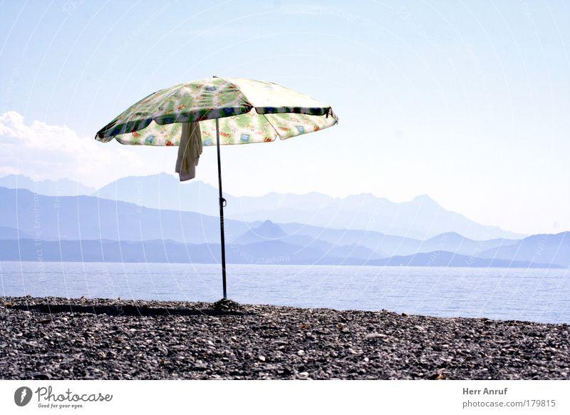 Sun Ocean Blue Joy Beach Vacation & Travel Gray Stone Bright Desire Hot Beautiful weather Wanderlust Summer vacation