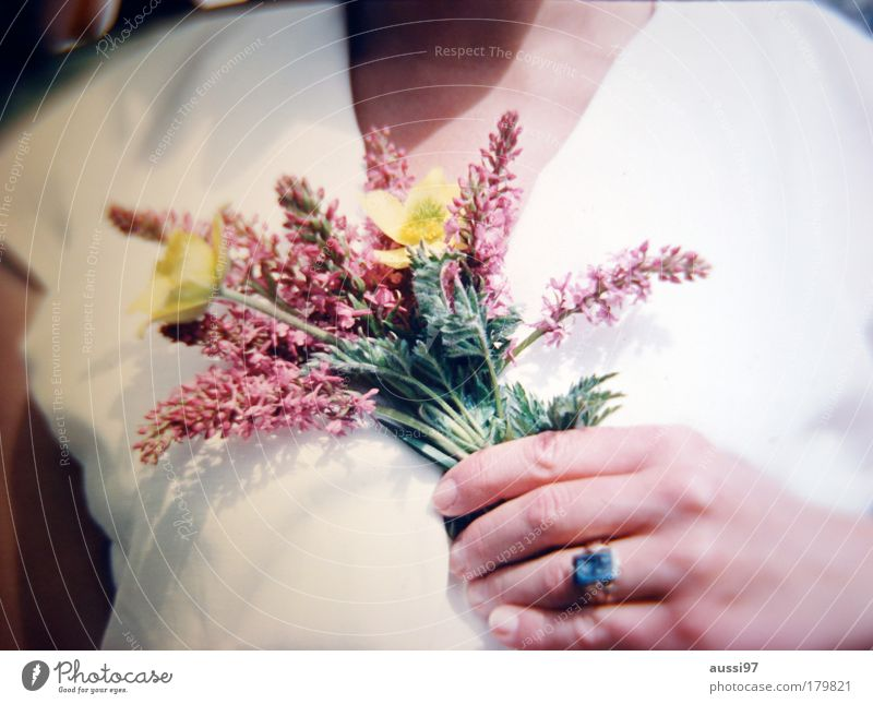 Hand Flower Joy Fingers Bouquet Ring Memory Gesture Salutation