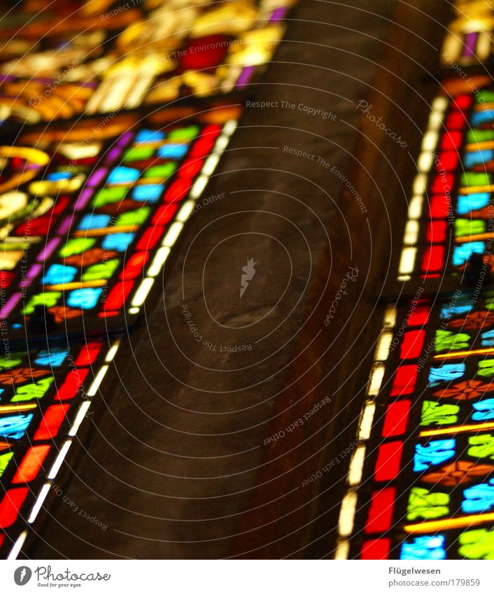 Sunday Service Colour photo Interior shot Lifestyle Art Painting and drawing (object) Tourist Attraction To enjoy Cold Beautiful Peace Hope Church Church window