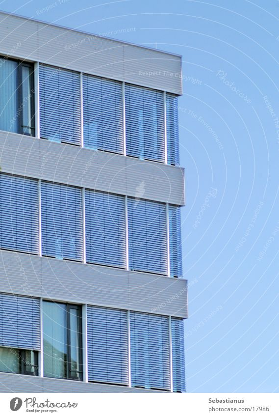 Sky Blue Window Architecture Aluminium