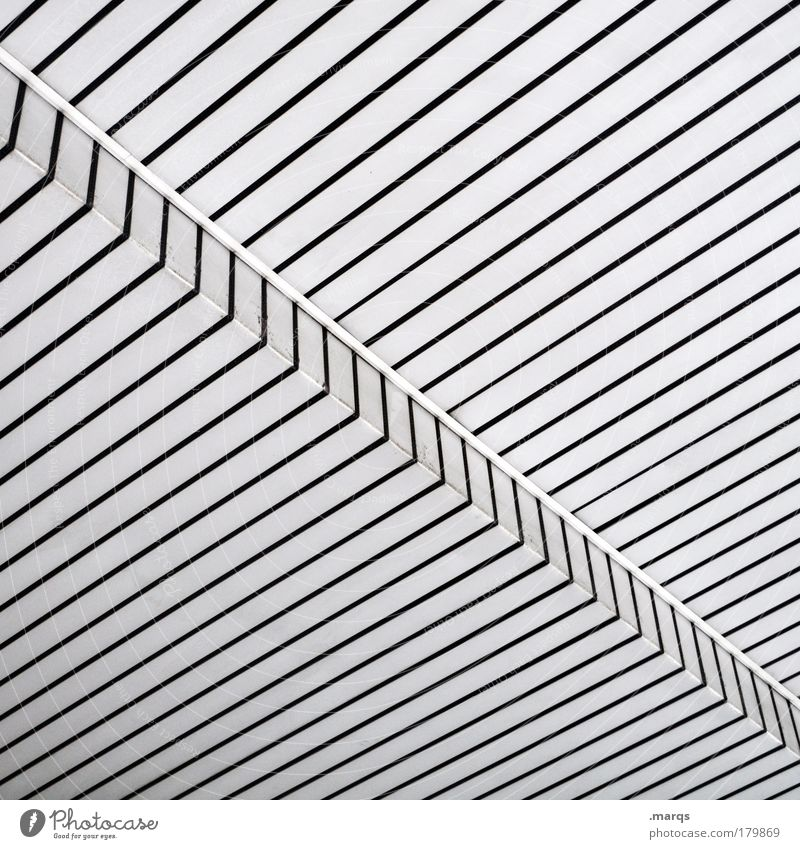 White Black Style Line Architecture Background picture Design Elegant Success Facade Modern Simple Clean Stripe Exceptional Plastic