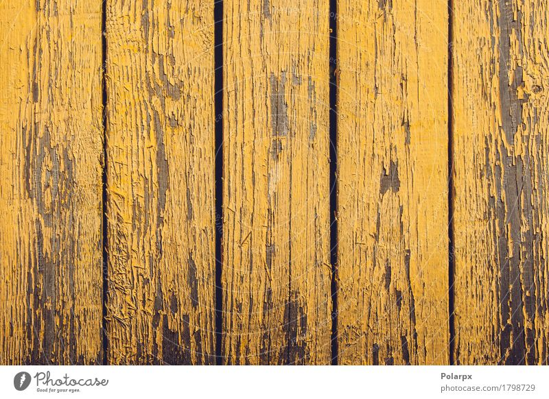 Yellow wooden planks with peeling paint Design Decoration Wallpaper Building Old Dirty Natural Retro Colour background wall Consistency Grunge Rough board Plank