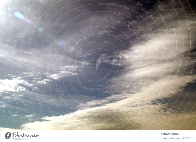 Sky Sun Blue Clouds Progress