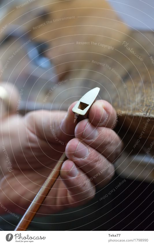 Violin making IIII Style Music Work and employment Profession Craftsperson Human being Hand Art Artist Esthetic violin making violin maker Colour photo