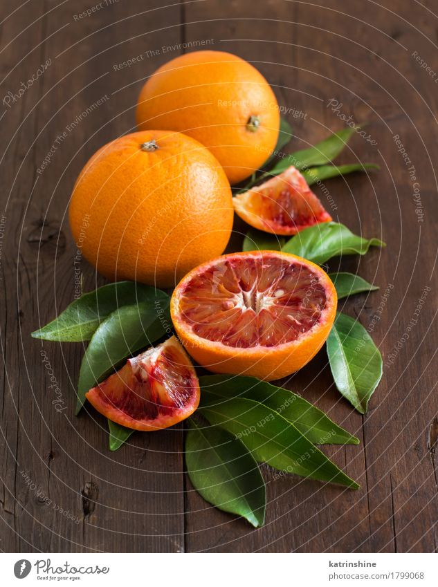 Fresh Sicilian oranges with leaves Old Colour Green Leaf Yellow Natural Food Bright Fruit Orange Retro Farm Harvest Exotic Vegetarian diet