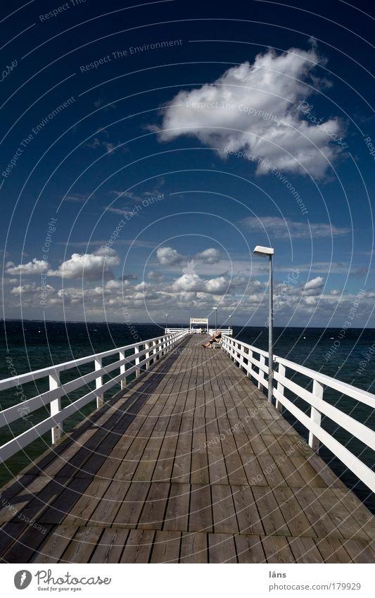 Bridge Sky Sun Ocean Vacation & Travel Clouds Relaxation Happy Dream Couple Contentment Horizon Trip Tourism Joie de vivre (Vitality) Discover
