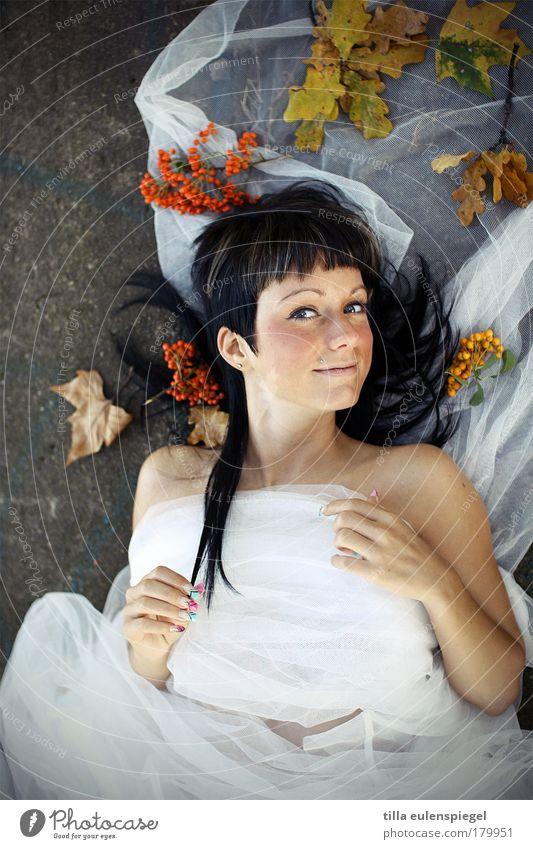 Woman Human being Youth (Young adults) White Beautiful Joy Adults Autumn Feminine Happy Stone Fashion Wind Elegant Happiness Clothing