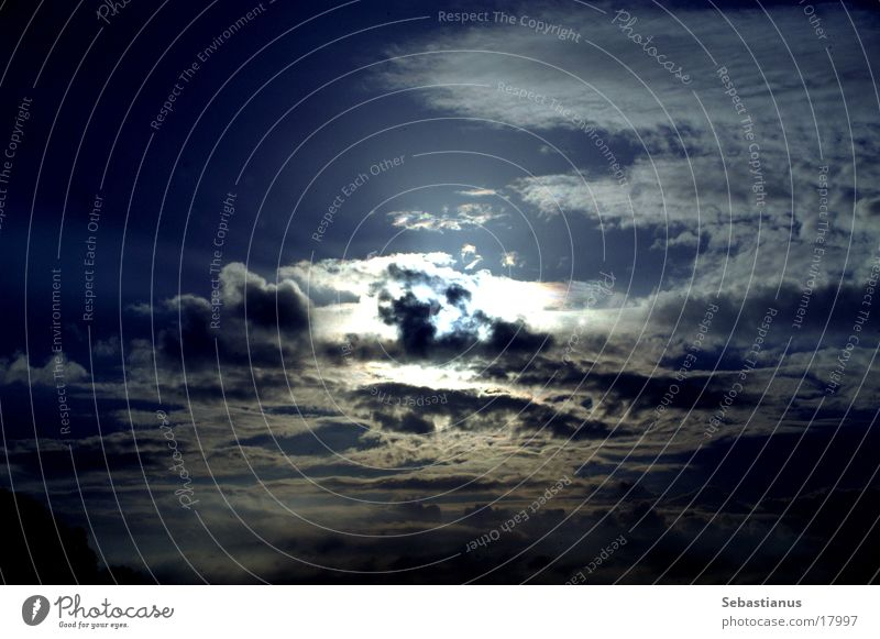 DuesterHeaven Clouds Dark Sunset Apocalyptic sentiment Sky Rain