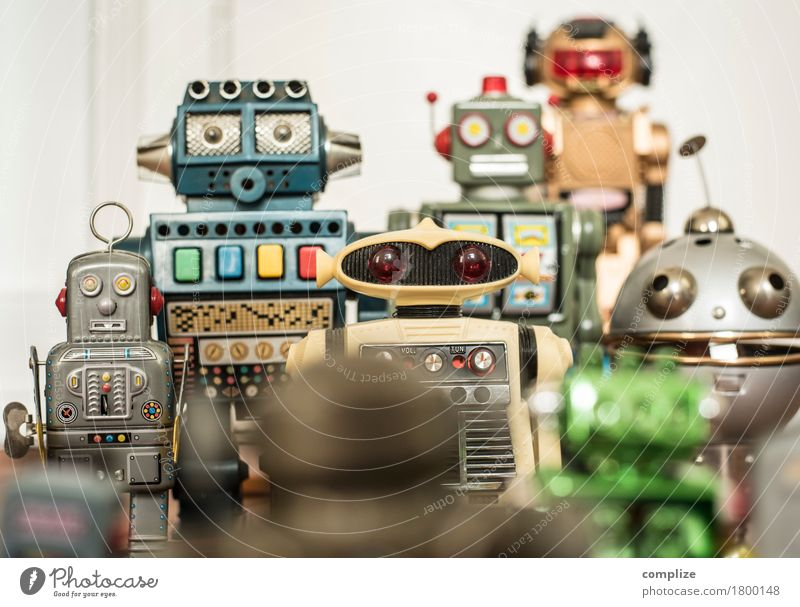 We are the robots Style Design Joy Body Healthy Leisure and hobbies Playing Model-making Club Disco Feasts & Celebrations Hardware Technology