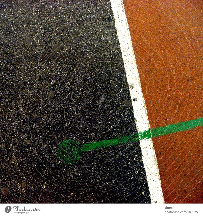 White Green Red Black Sports Places Floor covering Stripe Symbols and metaphors Diagonal Pavement Politics and state At right angles