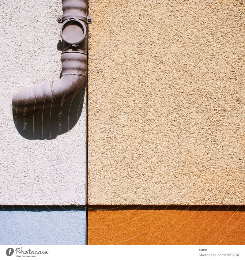 House (Residential Structure) Wall (building) Wall (barrier) Building Line Orange Facade Living or residing Authentic Sign Crucifix Division Graphic Eaves