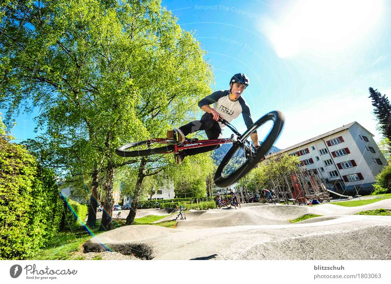 Joy Sports Flying Jump Wild Leisure and hobbies Bicycle Cycling Fitness Athletic Under Mobility Mountain bike Chur