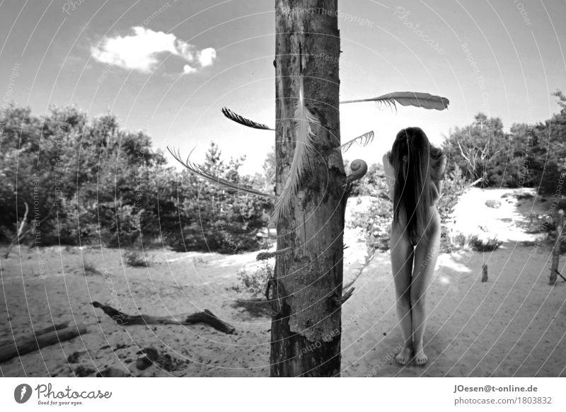 Act.1 Beautiful Body Summer Sun Sunbathing Beach Ocean Island Feminine Woman Adults Human being 18 - 30 years Youth (Young adults) Nature Baltic Sea Village