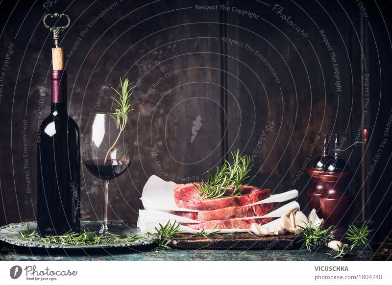 Food photograph Style Feasts & Celebrations Design Living or residing Nutrition Glass Table Herbs and spices Beverage Kitchen Wine Restaurant Crockery