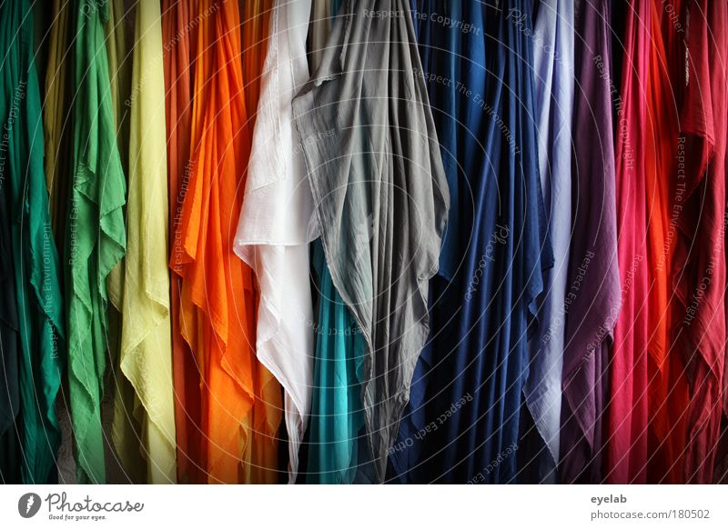 Cleaning cloth collection Colour photo Multicoloured Exterior shot Interior shot Close-up Detail Deserted Copy Space left Copy Space right Copy Space top