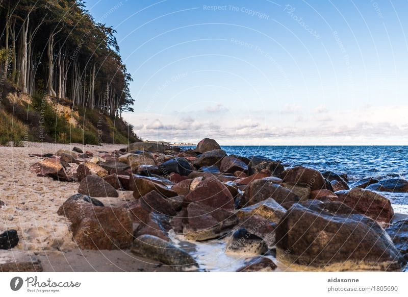 Water Landscape Calm Baltic Sea Serene Caution Patient Attentive Self Control