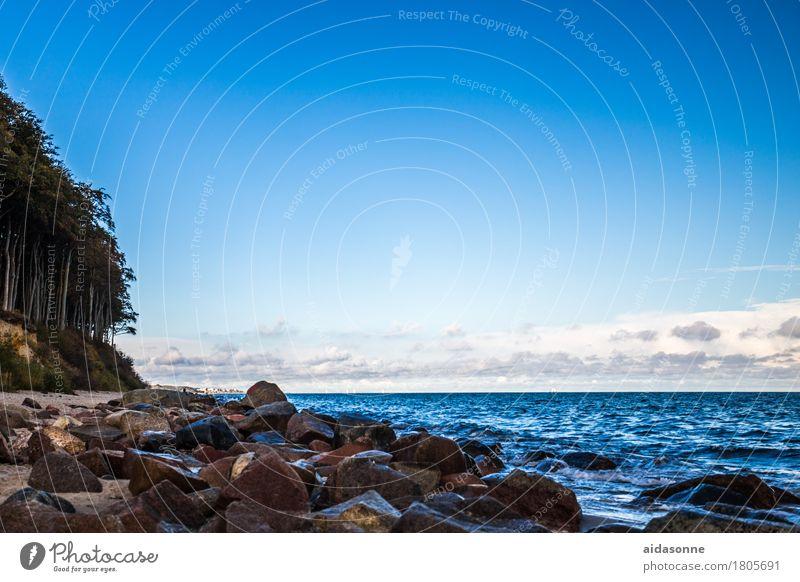 Landscape Calm Emotions Waves Baltic Sea Serene Caution Self Control