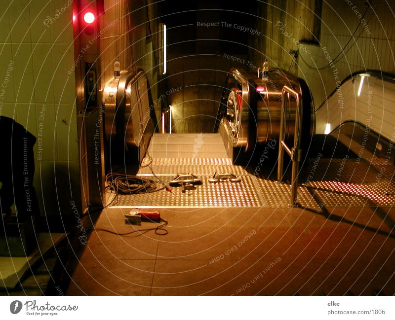Style Technology Tool Escalator Electrical equipment
