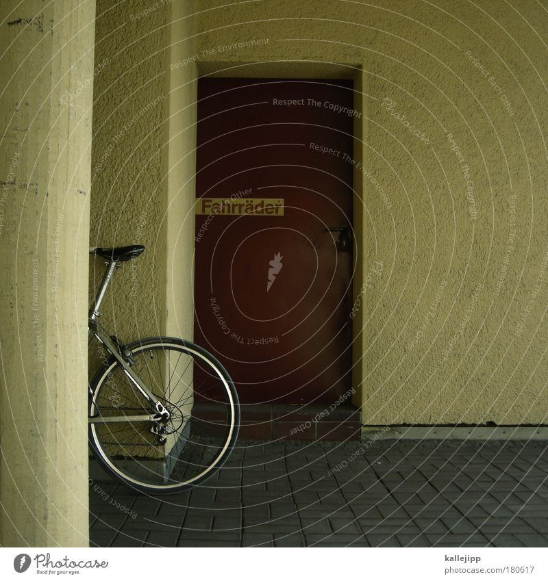 House (Residential Structure) Style Door Flat (apartment) Bicycle Leisure and hobbies Signs and labeling Design Transport Authentic Living or residing Lifestyle
